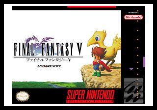 Emularoms: Final Fantasy V (Br) [ SNES ]