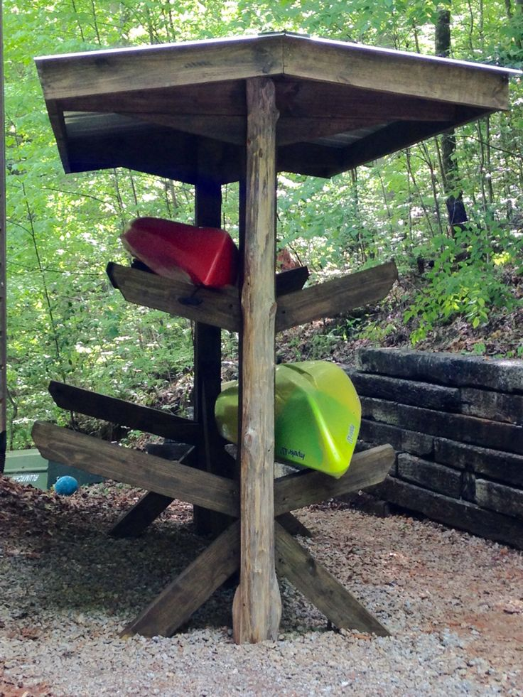 25 best ideas about kayak storage on pinterest kayak for Canoe storage shed