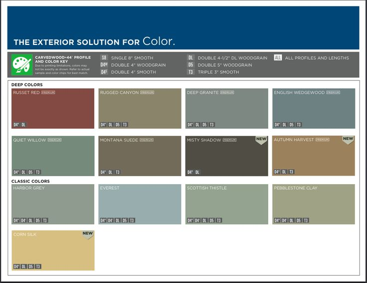 Mastic ply gem siding color options we install this for Vinyl siding color visualizer