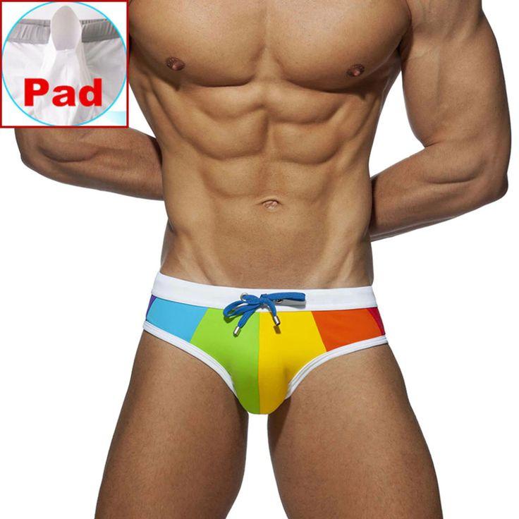 Sexy bulge enhancing swimwear