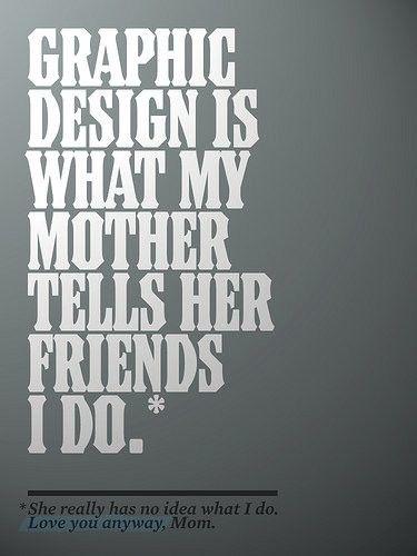 Graphic poster design