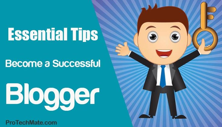 how to become a successful political blogger