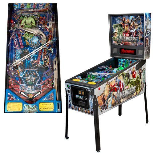 Avengers Movie Full Size Premium Pinball Machine Zelda