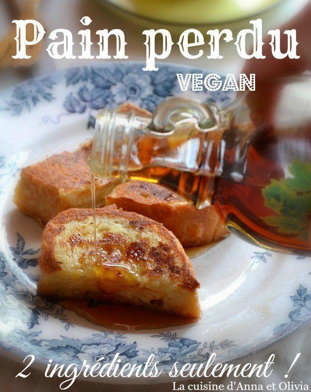 Pain perdu vegan : 2 ingrédients seulement ! Et on vous parle des brunchs du Tricycle rue de Paradis à Paris ♡