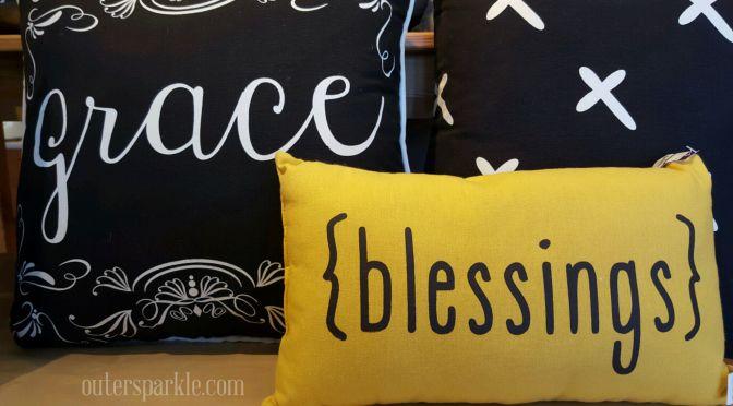 Falling into Grace thru Gratitude Fall decorating