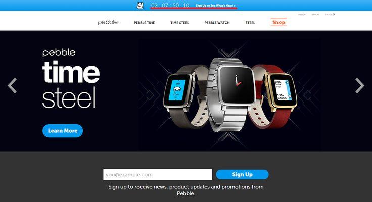 Το site της Pebble μετράει αντίστροφα (ξανά) | Smartwatcher.gr