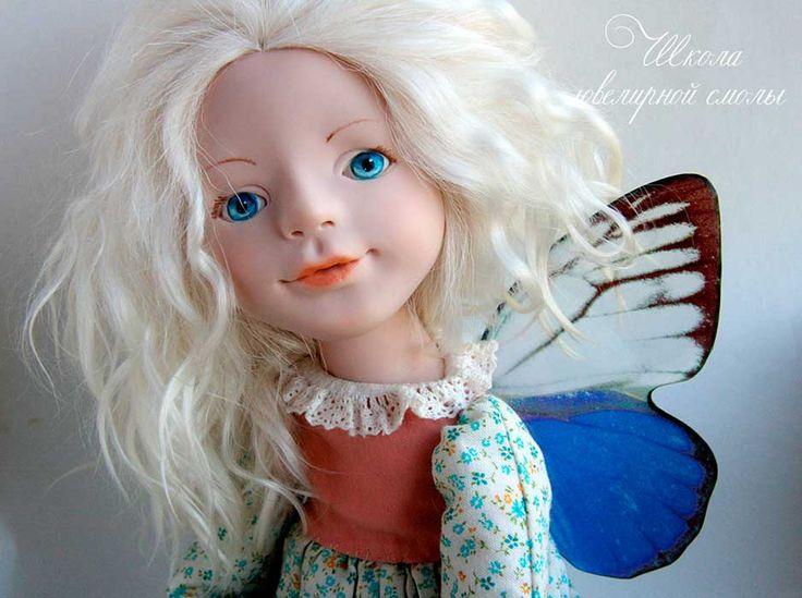 Наталья Агафонова,крылья из ювелирной смолы 3300