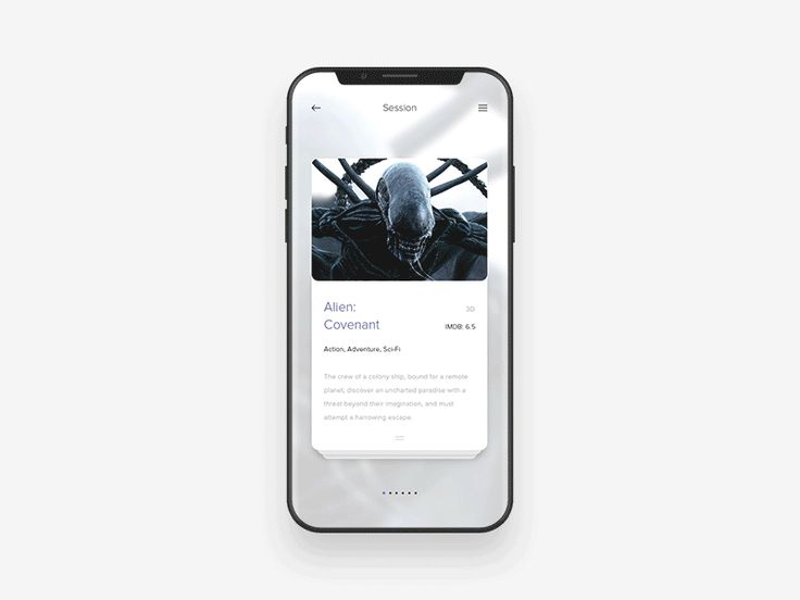 Cinema App Concept by Anton Skvortsov - Dribbble