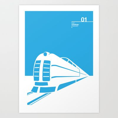 01_webdings_t Art Print by Iris & Floss - $18.00