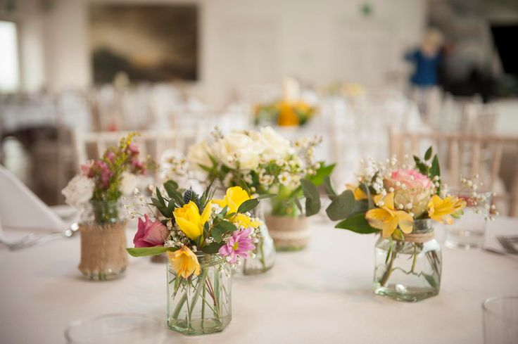 Like the height of the table arrangements