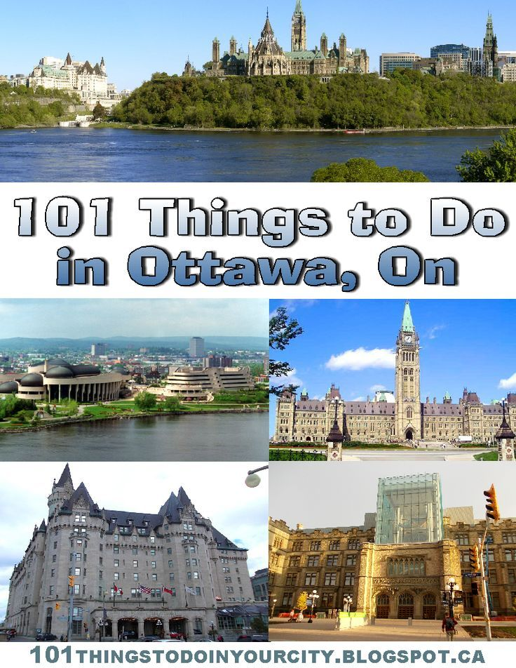 101 Things to Do...: 101 Things to do in Ottawa Ontario