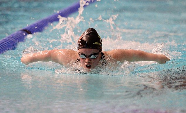 Star: Ellie has won four golds in total in the pool at Beijing 2008 and London 2012
