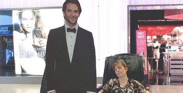 Mom Creates Slightly Creepy But Hilarious Instagram Account For Bradley Cooper Cardboard Cutout (Photos)