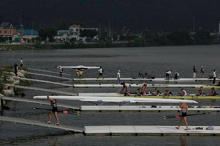 (courtesy of World Rowing ) 2013 World Rowing Championships - Chungju Korea