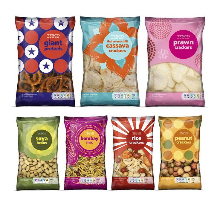Tesco Snacks | By P&W Design Consultants