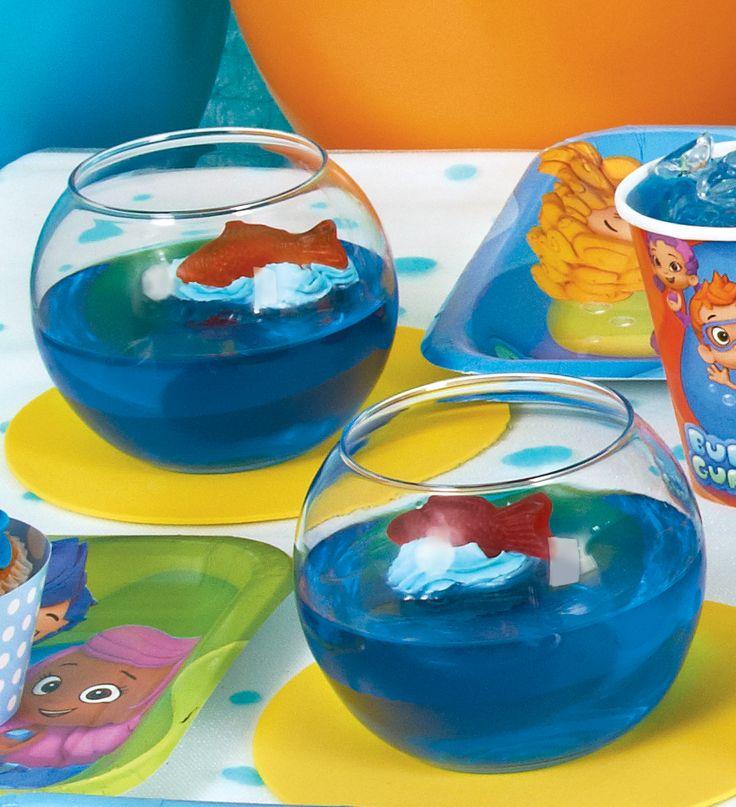 Bubbleguppies Treat Idea Blue Jello With Swedish Fish