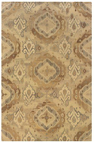 Oriental Weavers Transitional Rectangle Area Rug 10'x13' Beige-Ivory Anastasia Collection *** To view further for this item, visit the image link.