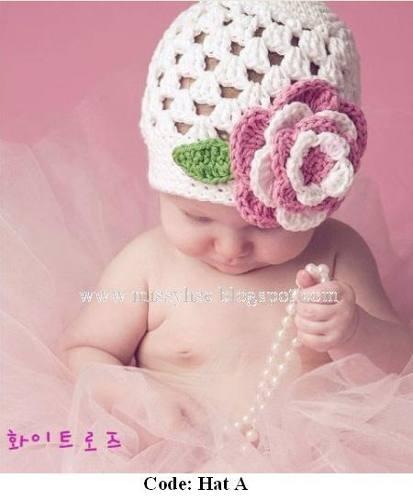 Preciosos Gorros Tejidos A Mano Para Bebes Y NiñosCrochet Para Bebe, Crochet Hats Beanie, Handmade Crochet, Crochet Baby Hats, Crochet Rosmary, Baby Baby, Baby Studios, Adorable Baby, Crochet Pattern