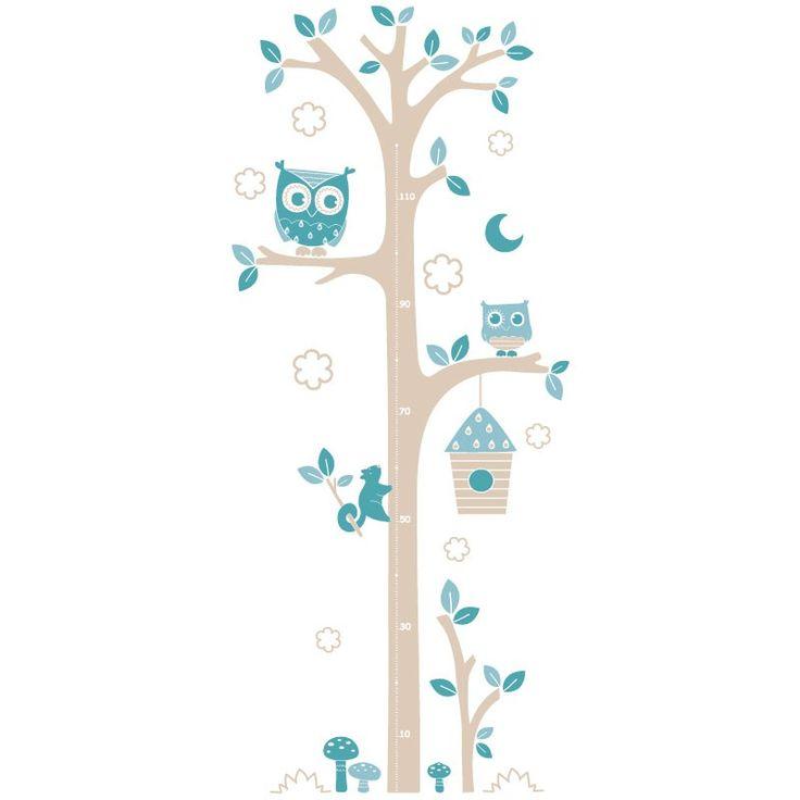 Les 25 meilleures id es de la cat gorie toise sur for Stickers arbre pour chambre bebe