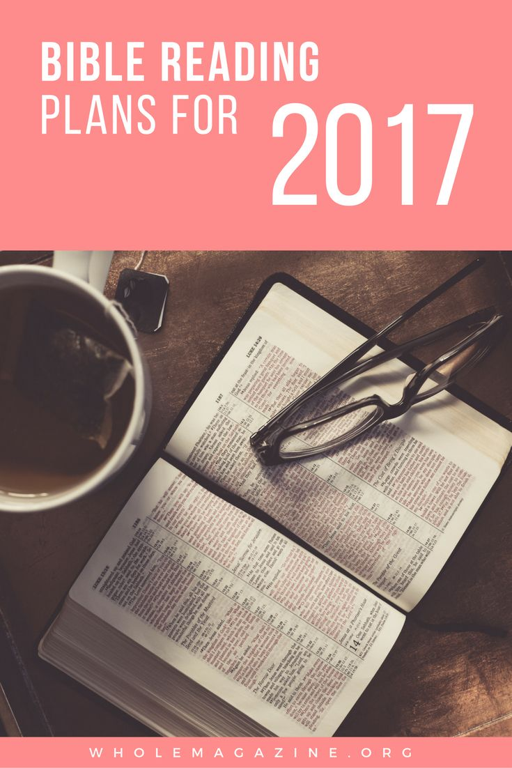Bible Reading Plans for 2019 - Ligonier Ministries