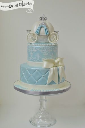 Cinderella Birthday Cake ~ I'm not sure who would love it more me or the birthday girl