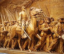 Robert Gould Shaw Memorial - Boston Common