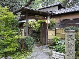 京都東山 円山公園内に佇む 其中庵(きちゅうあん)