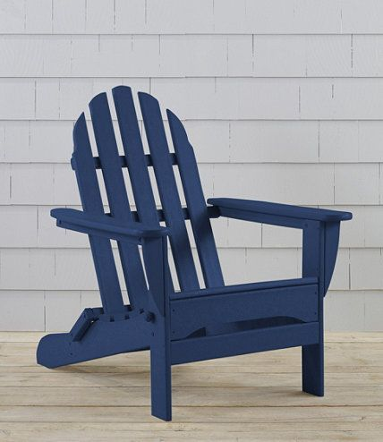 Discover the features of our All-Weather Adirondack Chair at L.L.Bean. Our high quality Home Goods Goods are backed by a 100% satisfaction guarantee.