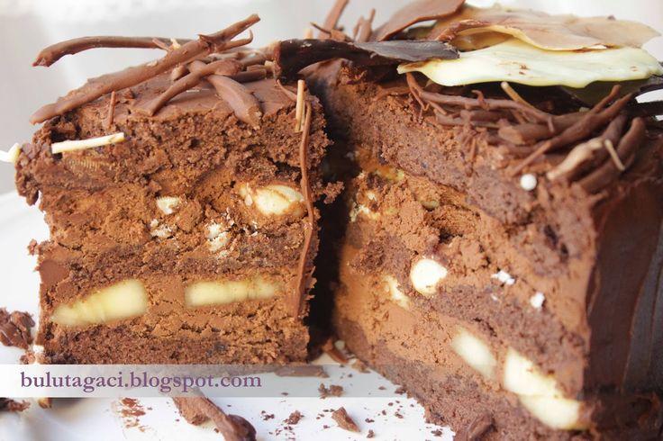 bulutağacı: Çikolatalı Muzlu Pasta