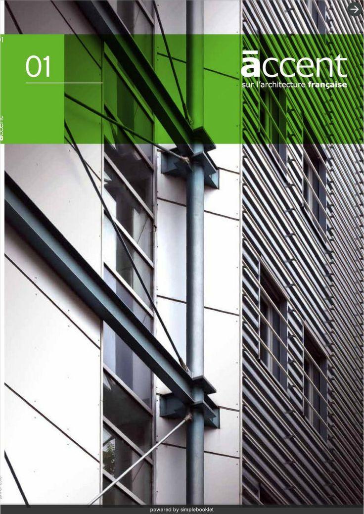 Accent sur l'architecture  Magazine de projets marquants en facade EQUITONE - made with simplebooklet.com