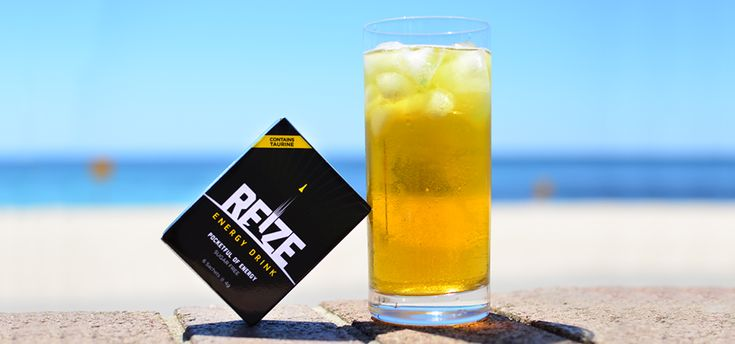 Check out our review on REIZE Energy Drink - you can  'mix it your way' with this unique concept for a sports drink!