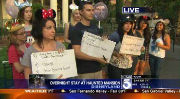 Watch Our Disneyland Park Haunted Mansion Live Stream | KTLA