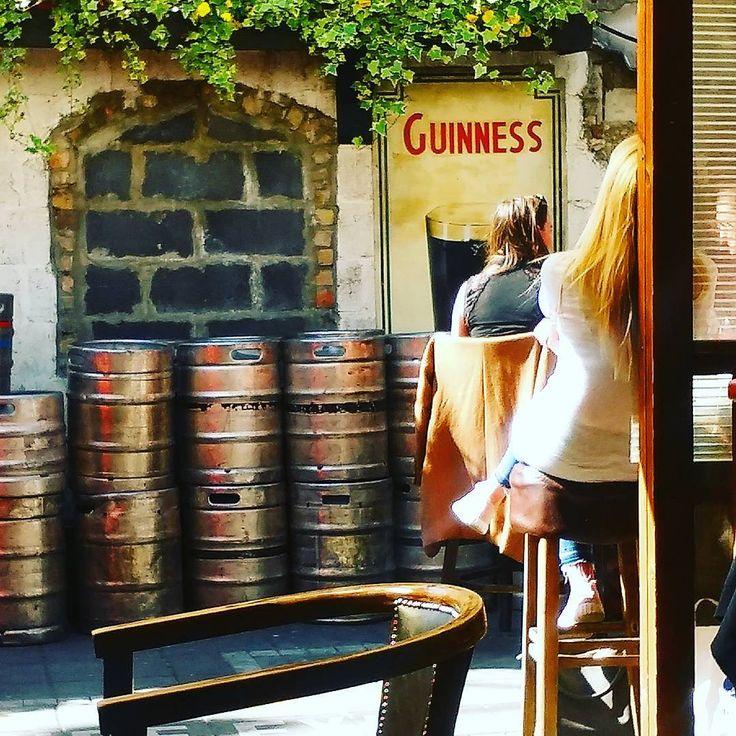 My Goodness My Guinness! Barrels of fun in the beergarden! #dayslikethis #sunshine #guinnessisgoodforyou #saturdayafternoon #thelongstone #dublin #instadublin #beergarden #ireland #instaireland #beerkeg #guinness #pub #irishpub #sunnyday #dublinigers #instapub #barrels #photooftheday #dublinpub #mygoodnessmyguinness #dublincity #theblackstuff #springtime #irishbeergarden #whenindublin #dublino #craic #visitdublin