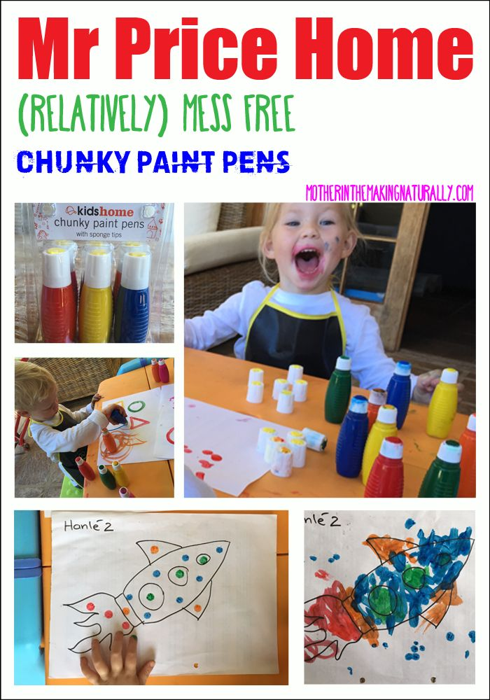 Review: Mess free chunky Paint pens