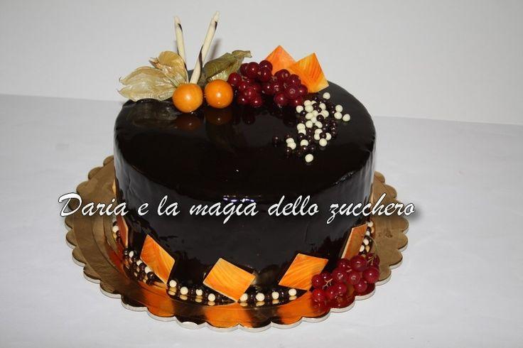 #Torta glassa a specchio #Mirror galce cake