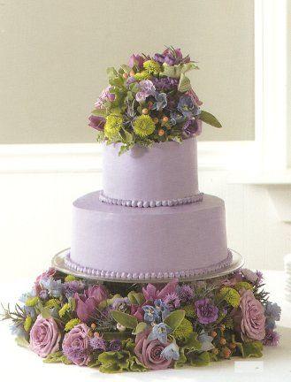 amazing wedding cakes | Decorating Your Wedding Cake With Flowers | Wholesale Wedding Flowers ...