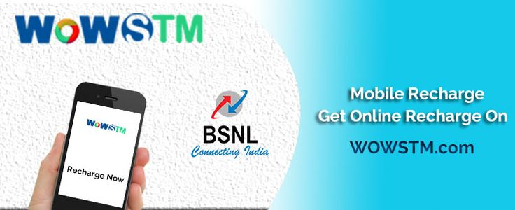Wowstm online recharge service works 24X7 thus it allows you to get your mobile recharge whenever you need it. #onlinerecharge, #mobilerecharge, #bsnlrecharge, #quickrecharge, #easyrecharge