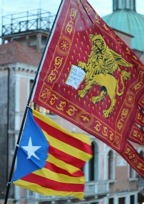 Venice flags