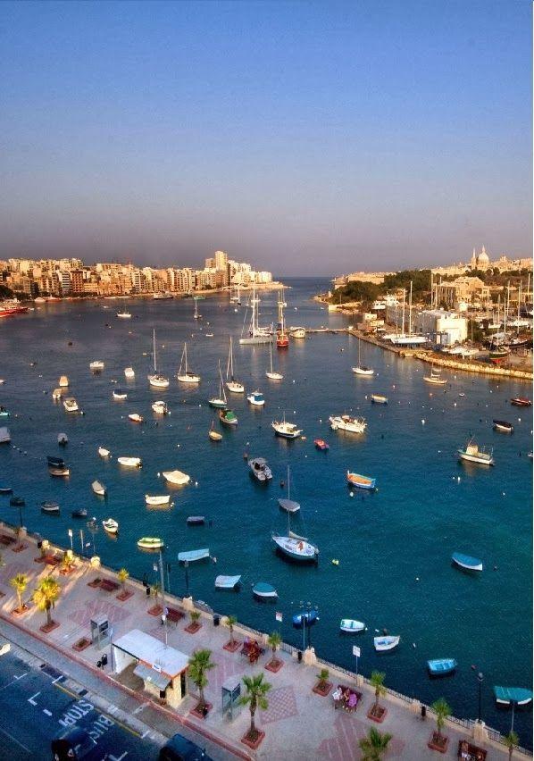 Sliema Bay, Malta: