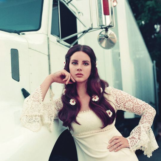 Lana Del Rey photographed by Chuck Grant for the Lust for Life album photoshoot