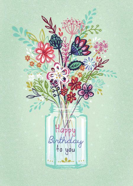 Claire Mcelfatrick - Modern Floral Vase