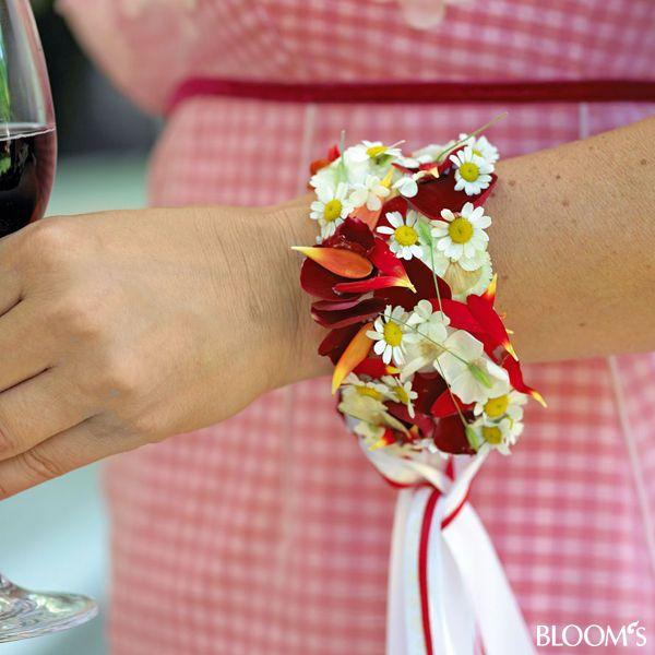 Armband Blüten Trauzeugin