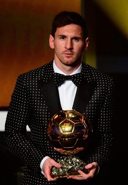Messi Balón de Oro, 2012. Der Vierte...