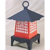Japanese Lantern Centerpiece for your Mulan themed Wedding or Party