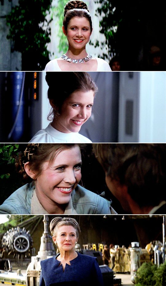To me, she's royalty. #starwars
