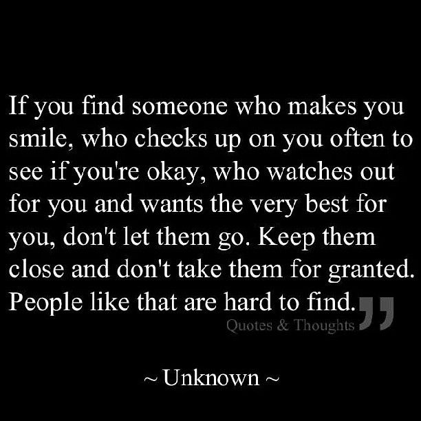 People like that are hard to find