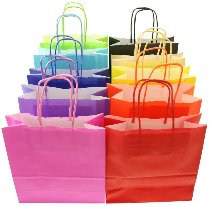 Party Paper Loot Bags - Wedding Favours - Medium - Birthday & Christmas Gift Bag