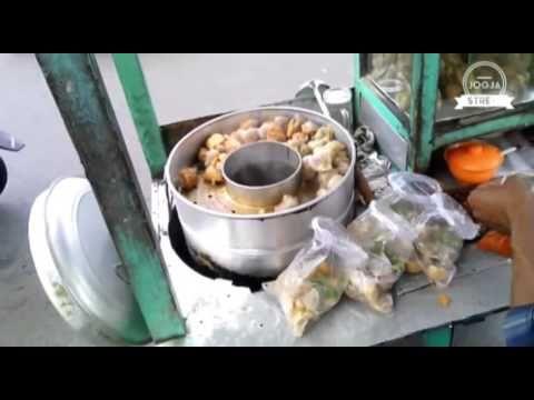 Yogyakarta Street Food, Bakwan Kawi Indonesia - YouTube