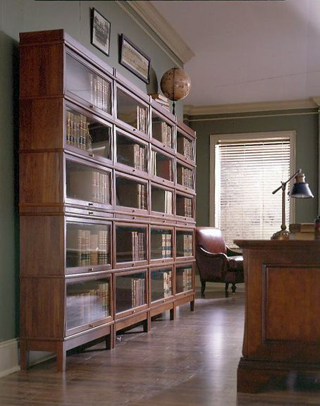 Hale Barrister Stack-able Bookcases. Made from solid wood. Heritage Collection. Barrister Bookcase Library.