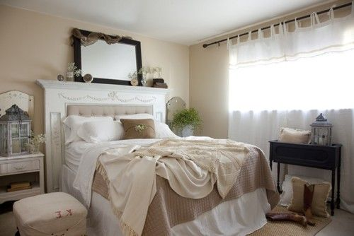 Padding center to middle to make a headboard: Headboards Design, Idea, Fireplaces Mantels, Mantles Headboards, The Angel, Traditional Bedrooms, Diy Headboards, Master Bedrooms, Guest Rooms